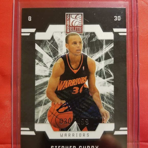 Stephen Curry Donruss Elite Rookie Card Reprint
